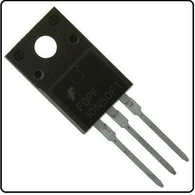 Transistor Fdpf10n50ft