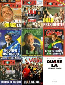 Livro Autografado Pelo Presidente + 10 Revistas Lula/dilma!