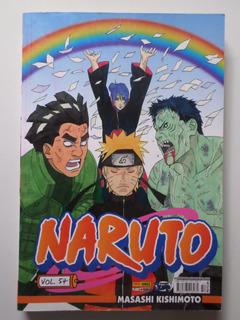 Manga Naruto 54 Temos Mais Números, Complete Sua Coleção!