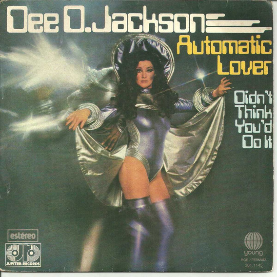 Dee D. Jackson Automatic Lover Compacto De Vinil