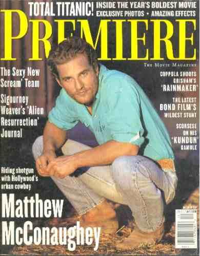 Matthew Mcconaughey: Capa + Matéria Da Premiere