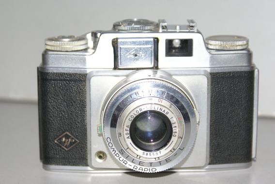 Câmera Agfa Silette - L Color Solinar 1:2.8/50mm
