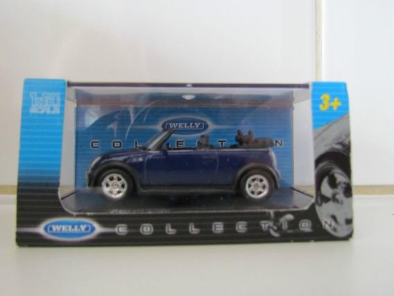 Welly Collection - Mini Cooper S Cabrio - Escala 1/60