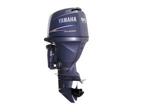 Motor De Popa Yamaha 90hp - 4 Tempos - Motor Novo Sem Uso