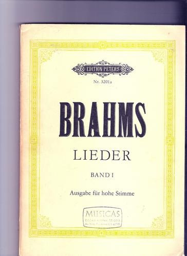 Livro Brahms Lieder Band L A Edition Peters Nr. 3201 A Ópera