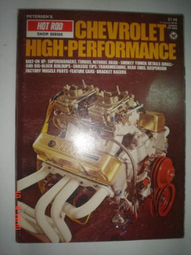Livro Chevrolet High Performance Holley Hot Rod Muscle Car