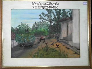 Quadro Fazenda ( Moldura , Arte , Pintura , Retrato )