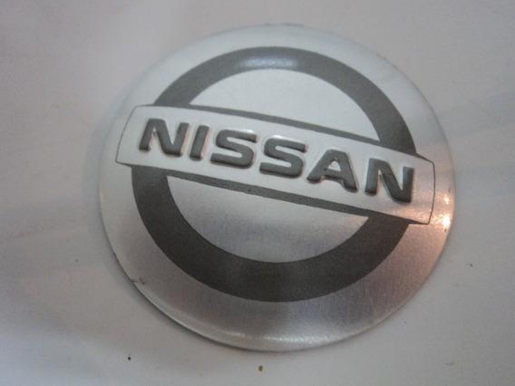 Emblema Adesivo Nissan Para Rodas Esportivas 55mm