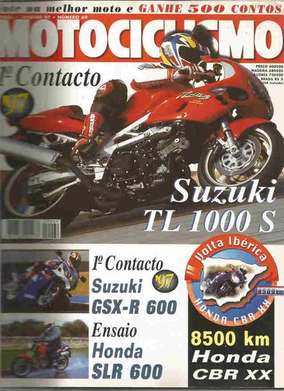 Motociclismo 69 * Suzuki Tz 1000 S * Gsx-r 600 * Slr 600