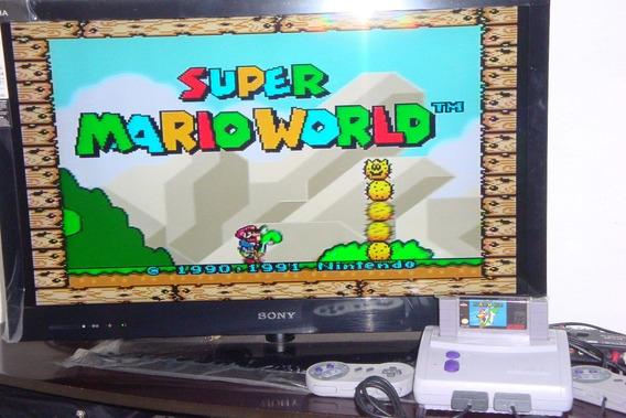Super Nintendo Baby + Mario + 2 Controle + Frete Grátis!!