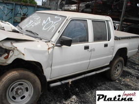 Sucata Mitsubishi L200 2004 Gls Cd Para Retirada De Peças