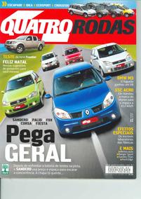 Revista 4 Rodas Nº 572 - Dezembro/2007 Perfeito Estado!!!