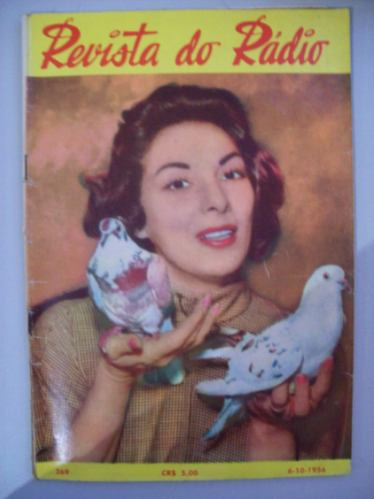 Revista Do Rádio 1956 - Emilinha,dalva,linda Batista,dilu M