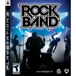 Jogo Rock Band 1 Da Harmonix Para Ps3