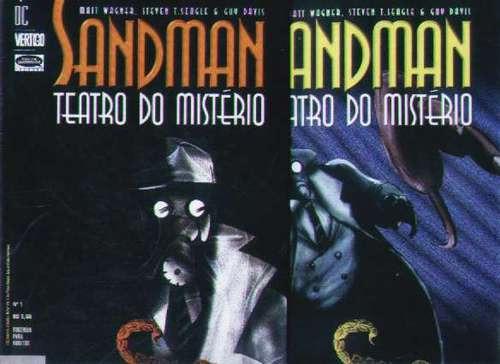 Sandman Teatro Do Mistério - O Escorpião - 2 Edições - 1999