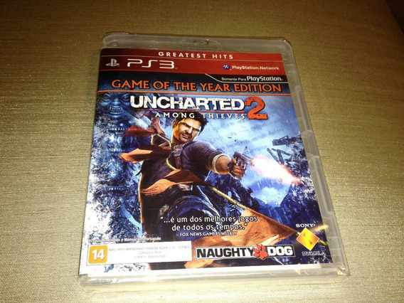 Uncharted 2 Among Thieves Edicao Game Do Ano Lacrado