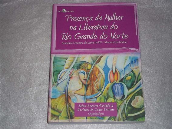 Livro Presença Da Mulher Na Literatura Do Rio Grande Do Nort