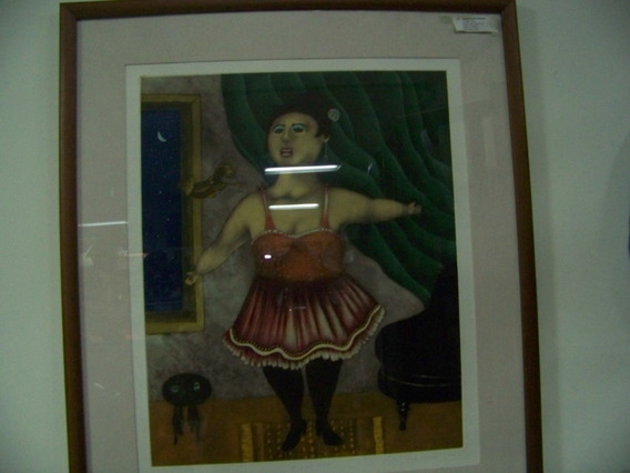 Pintura De Guadalupe Herrera Tipo Botero