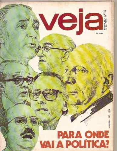 Revista Veja - Para Onde Vai A Política?/ Lima Duarte