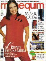 Cl Manequim 459 * Mar/98 * Regina Duarte