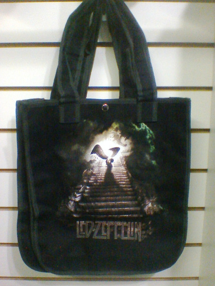 Bolsa Led Zeppelin Stairway To Heaven Brim 100% Algodão