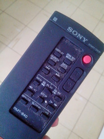 Controle Sony Rmt 840