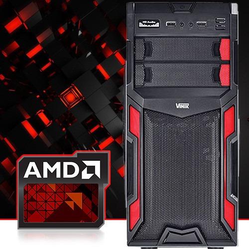 Cpu Gamer Amd A4 7300 3.9 Ghz 4gb Ati Radeon 8470d Gta5 500g