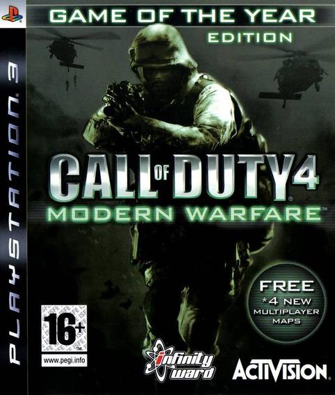 Call Of Duty Modern Warfare 4 Playstation 3 Pls3 Edicao Espe