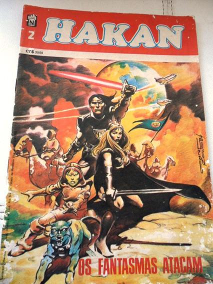 Revista Quadrinho - Hakan -nº2 - Os Fantasmas (frete Grátis