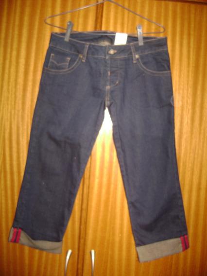 Bermuda Jeans Feminina Coke Clothing 38 Tenho Colcci Carmim