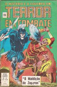 O Mistério E A Loucura Do Terror Em Combate - Nº 12 - 1980