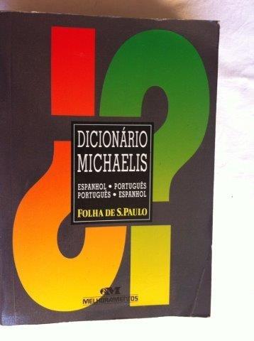 Livro - Dicionário Michaelis - Folha De São Paulo - Espanhol