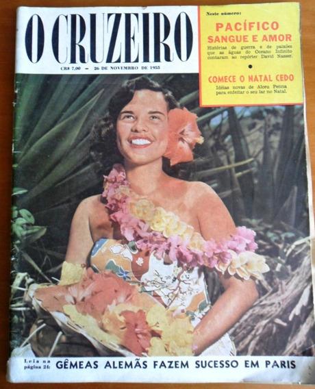 Revista O Cruzeiro - Ano 1955 (kim Novak) Frete Grátis