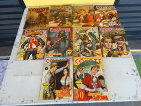 O Coyote! Vários! R$ 25,00 Cada! Editora Monterrey 1958-1960