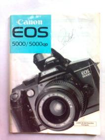 Manual Da Camera Fotografica Canon Eos 5000 / 5000qd