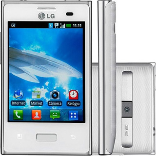 Lg Optimus L3 E400 Android Wifi Gps Cam 3.2mp Branco | Novo