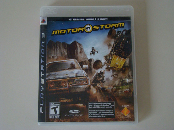 Motorstorm - Playstation 3 / Ps3