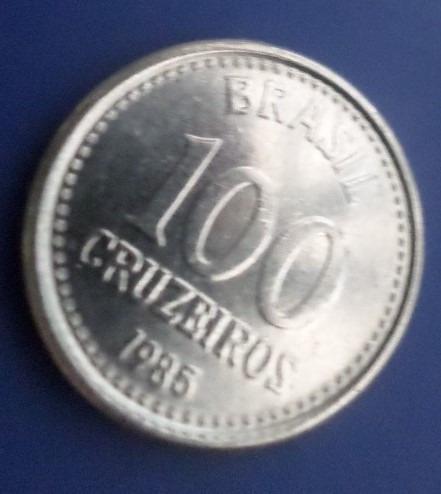 Moeda 100 Cruzeiros 1985