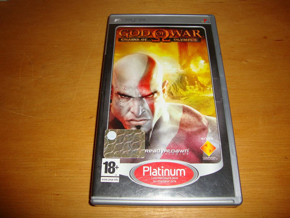 God Of War: Chains Of Olympus Completo Para Psp
