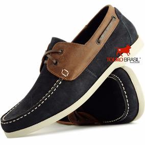 f6e5481bc Sapato Esporte Fino Masculino Azul - Sapatos no Mercado Livre Brasil