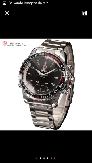 Shark Relógio Masc Digital