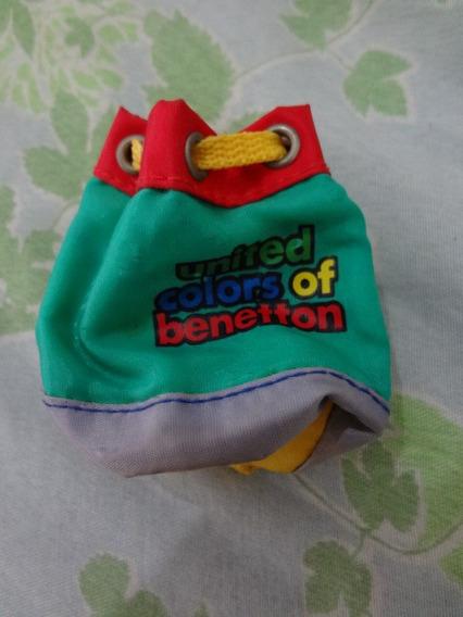 Bolsinha Porta-niquel Mochilinha Para Boneca Benetton