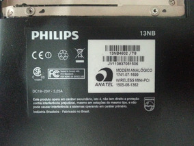 Note Philips 13nb4602 - Parte Superior Com Touch Pad E Mic