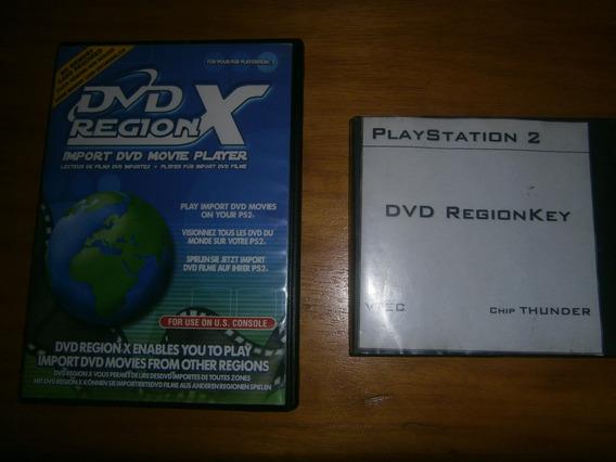 Lote De 2 Dvd Region X Ps2 Destrava Região Para Filmes.