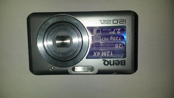 Carcaça Camera Digital Benq Dcw1240 C/defeitos
