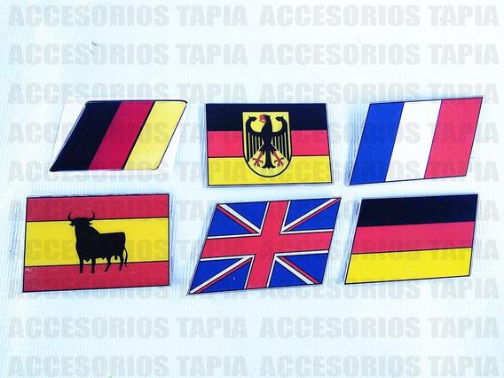 Bandera Decorativa Modelo Europeo