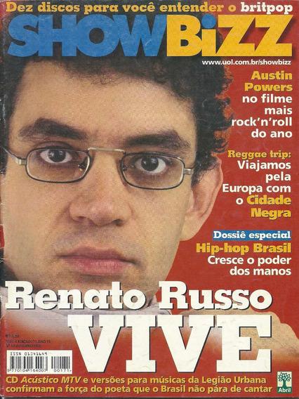 Revista Bizz 171-legião Urbana,renato Russo,ultraje A Rigor