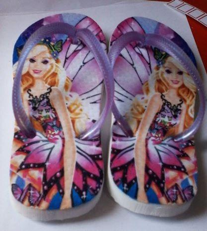 Chinelos Barbie 20,00