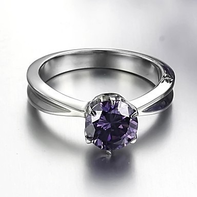 Anillo Luxurious Gran Diamante Suizo Titanium.envio Gratis.