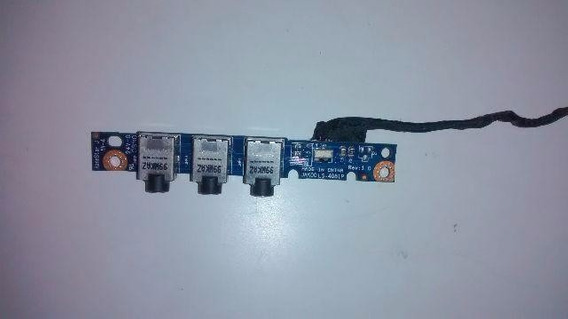 Placa De Audio Do Hp Dv4-2012br Modelo: Jak00ls-4081p